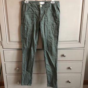 Jolt army green pants